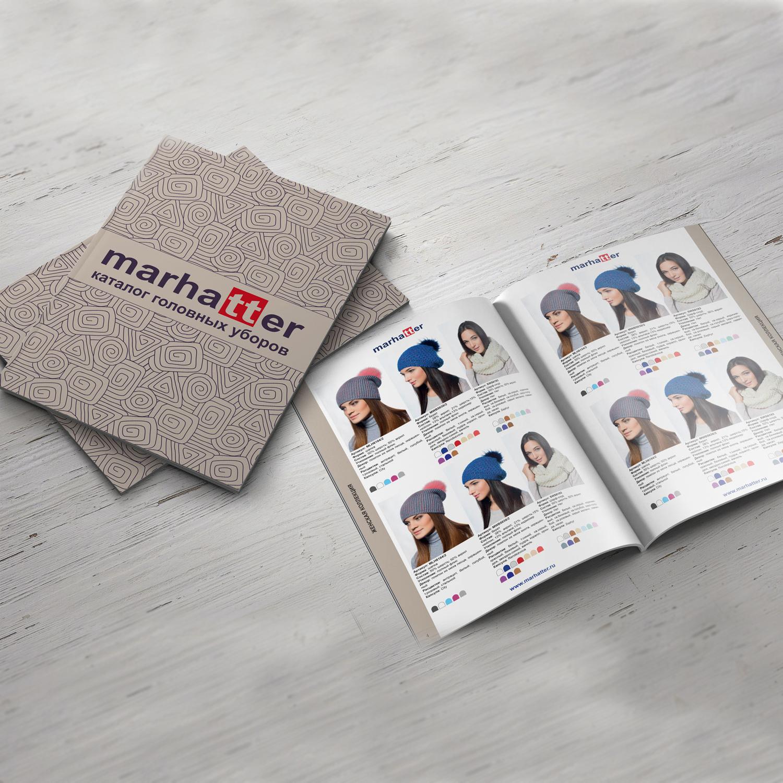 Печать каталогов marhatter на крафтовой бумаге