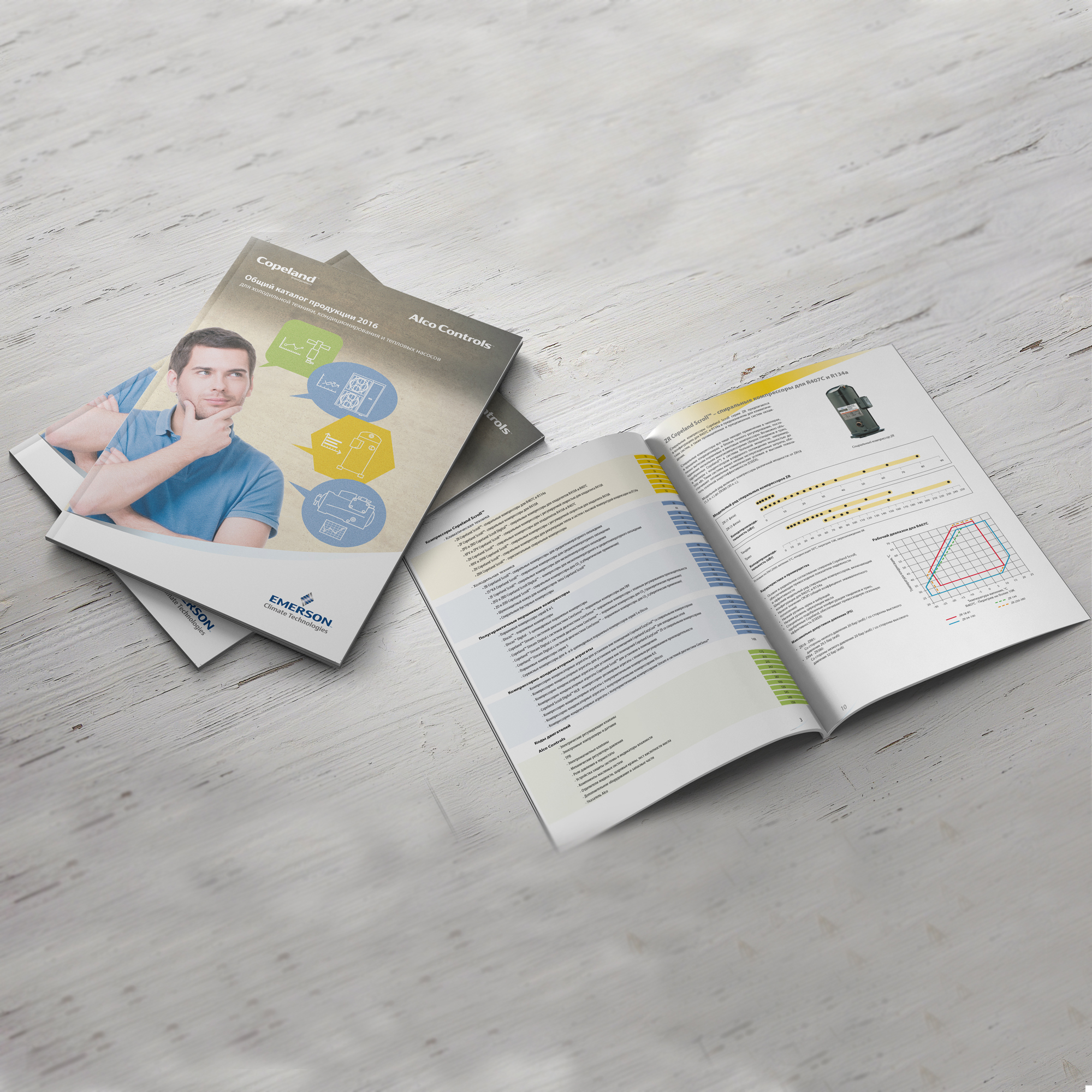 Печать каталога для компании AlcoControls
