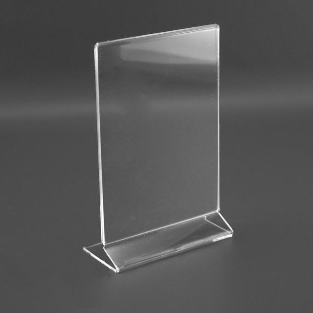 Ценник из пластика сделанный с помощью лазерной резки