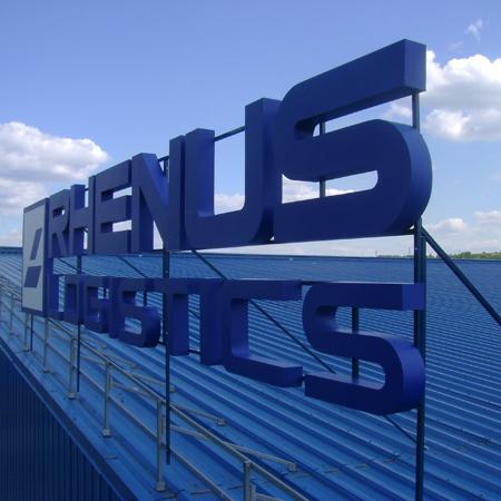 Несветовая конструкция для компании RHENUS